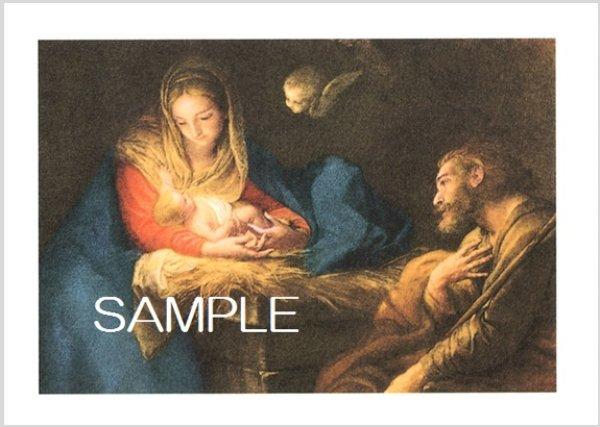 画像1: イタリア製 二つ折り クリスマスカード (1)