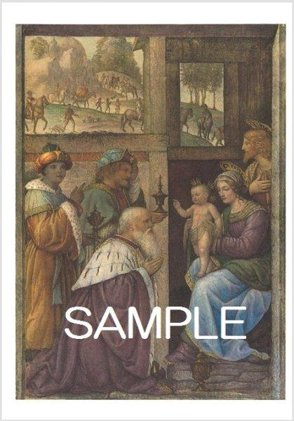 画像1: イタリア製 クリスマスカード HC9203 (1)
