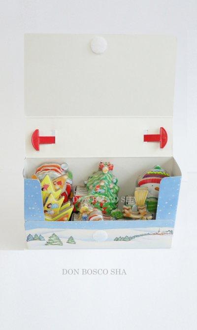 画像2: ミニクリスマス 5体セット