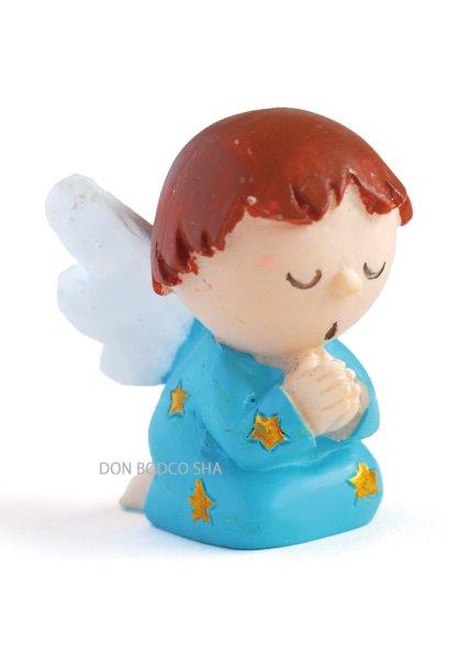 画像1: 卓上置物 天使 ブルー (1)