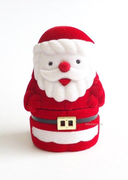 画像1: クリスマス聖品  卓上置物 サンタ (1)