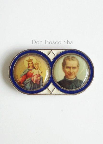 画像1: マグネット 扶助者聖母とドン・ボスコ (1)