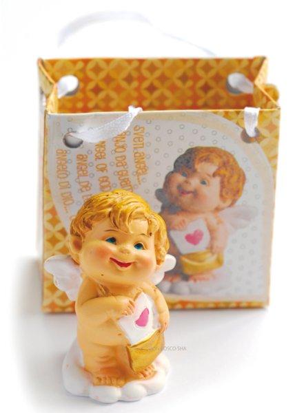 画像1: 卓上置物 天使 レター (1)