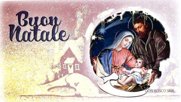 画像1: クリスマスカード1枚タイプ封筒付 20327 52-V.N.-1 (1)