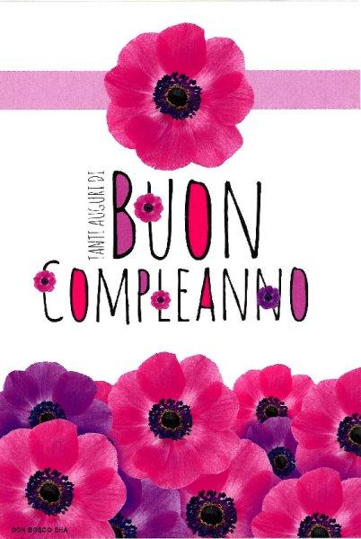 画像1: イタリア製二つ折り お誕生日カード (1)