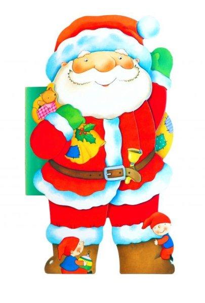 画像1: サンタさんのクリスマス アドベント・カレンダーつき (1)