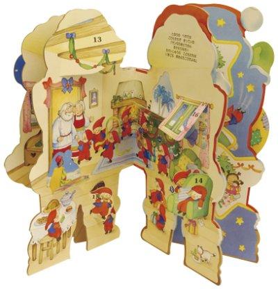 画像1: サンタさんのクリスマス アドベント・カレンダーつき