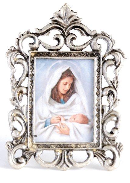画像1: 卓上置物 (写真差替可)聖母子 (1)