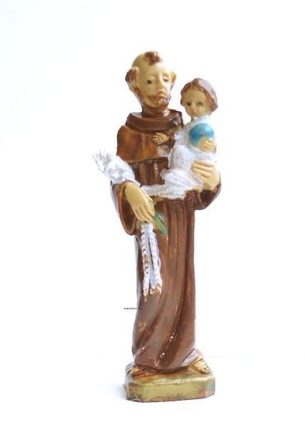 画像1: 樹脂製 パドアの聖アントニオ像 H7cm (1)