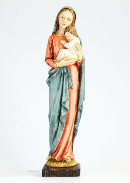 画像1: プラストマーブル製 聖母子像 色付 25.5cm 426C (1)