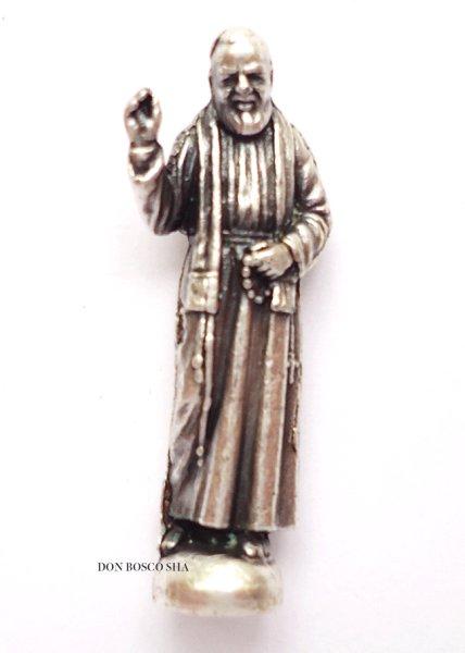 画像1: ★ミニご像 聖ピオ神父 2.5cm★ (1)