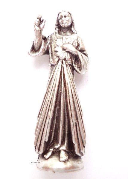 画像1: ミニご像 いつくしみのイエス 2.5cm (1)