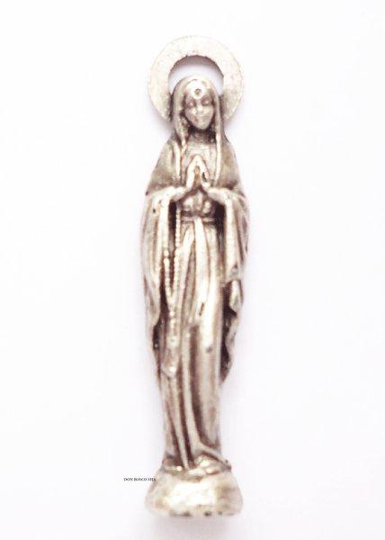 画像1: ミニご像 ルルドのマリア 27mm (1)