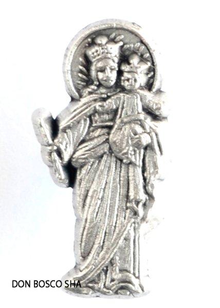 画像1: ピンバッジ 扶助者聖母 (1)