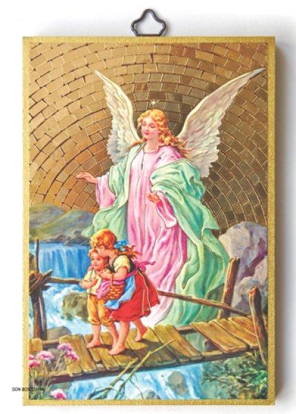 画像1: 壁掛板絵 守護の天使 NB (1)