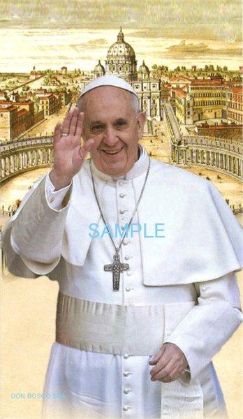 画像1: イタリア製 ご絵 教皇フランシスコ (1)