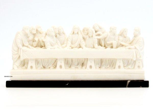画像1: プラストマーブル製 最後の晩餐像 白 (1)