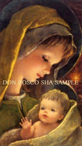 画像1: イタリア製 ご絵 クリスマス 聖母子 APOSTOLICA 2 (1)