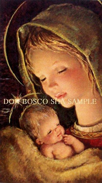 画像1: イタリア製 ご絵 クリスマス 聖母子 APOSTOLICA 5 (1)