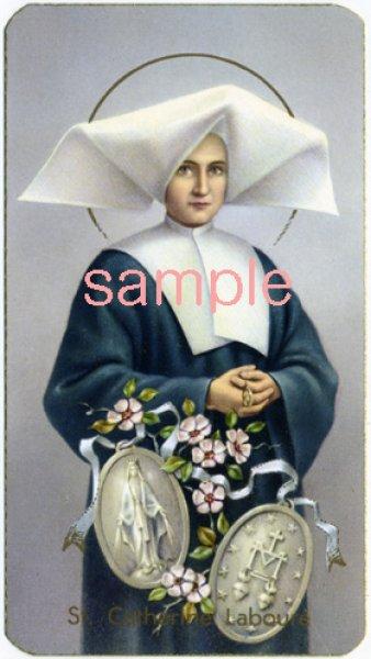 画像1: イタリア製 ご絵 聖カタリナ・ラブレ(400-165) (1)