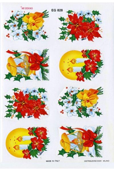 画像1: イタリア製 クリスマスシール EG828 (1)