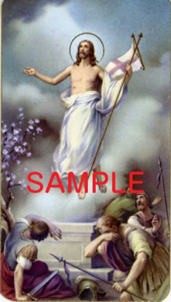 画像1: イタリア製 ご絵 復活のキリスト (100-121) (1)