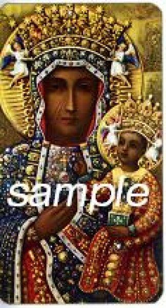 画像1: イタリア製 ご絵 チェストコワの黒いマリア(400-284) (1)