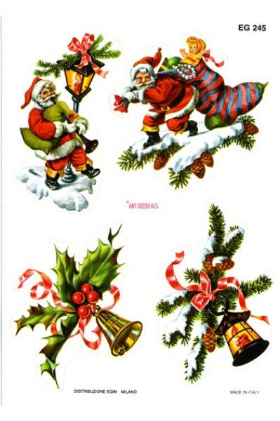 画像1: イタリア製 クリスマスシール EG245 (1)